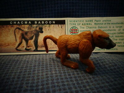 Yowies Series 5, * CHACMA BABOON * + PAPERS