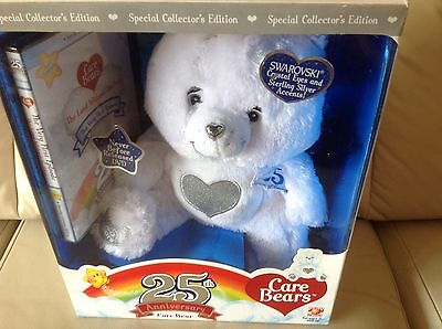 Care Bears 25th Anniversary Collectors Edition With Swarovski Eyes