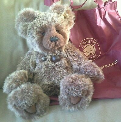 Branwell by Charlie Bears 17 inch plush collectable teddy bear