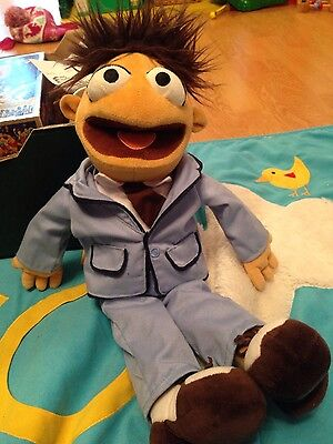Walter soft toy from The muppets