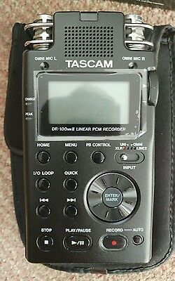 Tascam DR-100mkii Linear PCM Recorder - Boxed