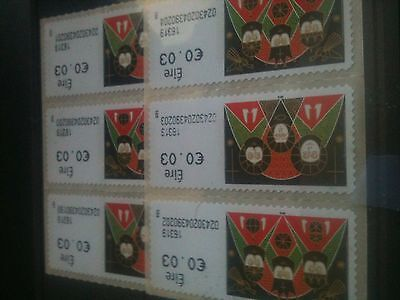 EIRE~IRELAND~Selection 2016 Christmas stamps/ Peel n Go  MNH
