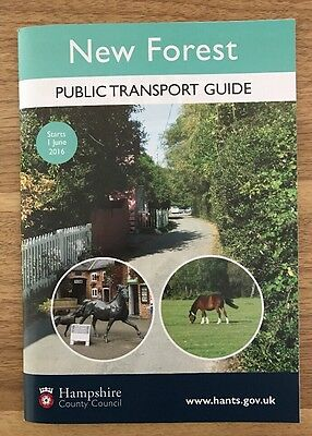 New Forest Bus Timetable June 2016 (64 Pages)