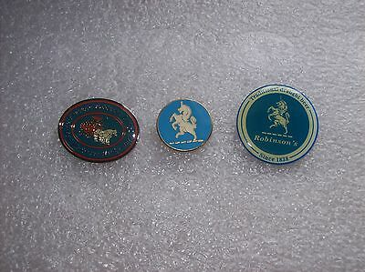 3 Robinsons Brewery  Lapel Badges