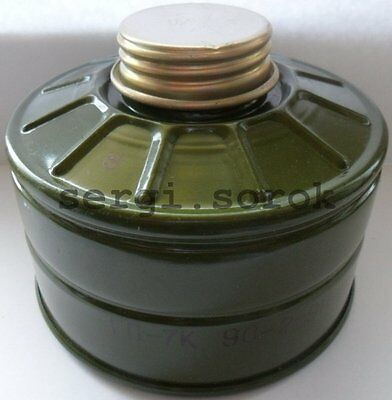 Russian Gas Mask Filter ABEKPD Military 40mm with bag for GP-7/GP-9 2016 new