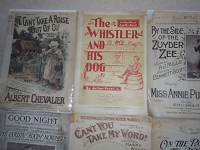 Albert Chevalier And Other Sheet Music