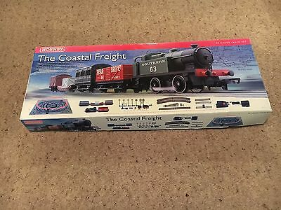 """Hornby Train Set - """"THE COASTAL FREIGHT"""" - Complete set and in great condition"""