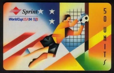 TK Telefonkarte/Phoneca Sprint 50u World Cup Soccer 1994 - United States