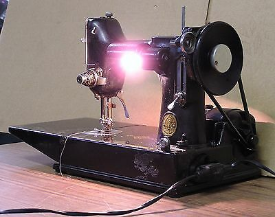 Singer Collectable Sewing Machine. Model 221K. Electrically Tested. Made In Gb!.