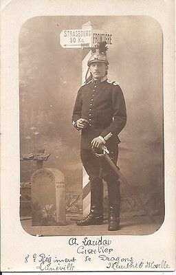 Carte-Photo à Identifier - Luneville -Militaire ???