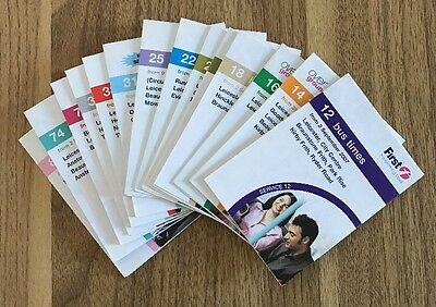 14 X First Leicester Bus Timetables 2007