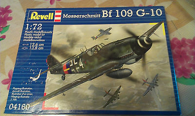 Maqueta avion 1:72 caza aleman Messerschmitt Bf109 G10 (german fighter plane)