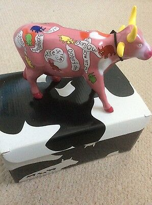 Cow parade, 'The Polite Cows' figurine, new in box