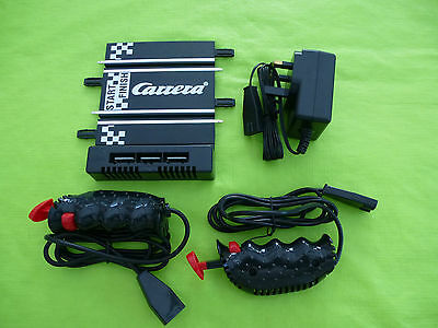 *NEW* 1/43 Carrera Go POWER TRACK + 2x THROTTLES + TRANSFORMER  (not scalextric)
