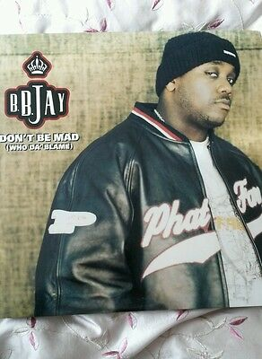 "B.B. Jay ‎– Don't Be Mad (Who Da' Blame) 12""single"