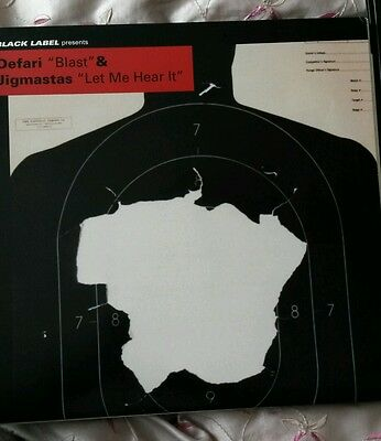 "Defari / Jigmastas ‎– Blast / Let Me Hear It 12""  single DJ Spinna"