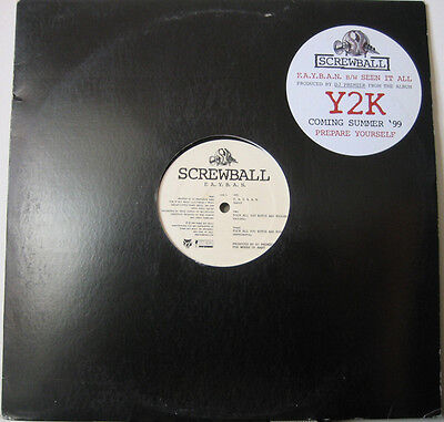 Screwball ‎– F.A.Y.B.A.N. / Seen It All 12""