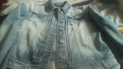 Next girls denim jacket age 13 years
