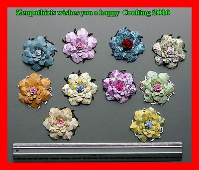Collection of very pretty flowers for your to use as embellishments
