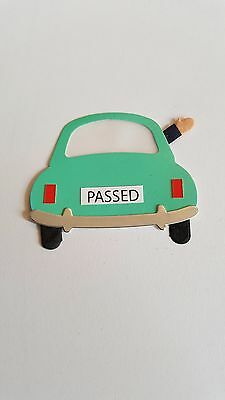 Driving Test Passed Car Card Topper