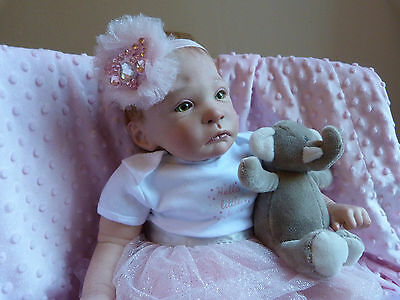 baby reborn doll sweet pea sculpt by laura lee eagles professional artist