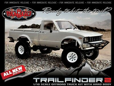 RC4WD Trail Finder 2 Truck Kit Mojave 2 Body Set