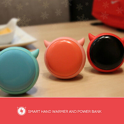 4000mAh Power Bank +USB Rechargeable Electrical Heat Pocket Hand Warmer