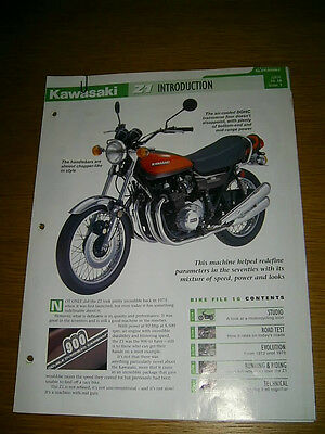 Kawasaki Z1 900 The complete fact file from Essential Superbikes 14 Pages