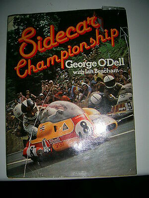 Sidecar Championship Hardback by George O'Dell with Ian Beacham 1978 Motorcycle