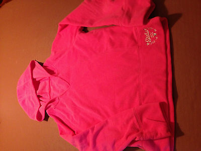 Girls M&S fleece hoodie in pink - 11-12 years - Worn twice