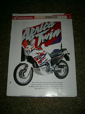 Honda XRV750 AFRICA TWIN Complete fact file from Essential Superbikes 24 Pages