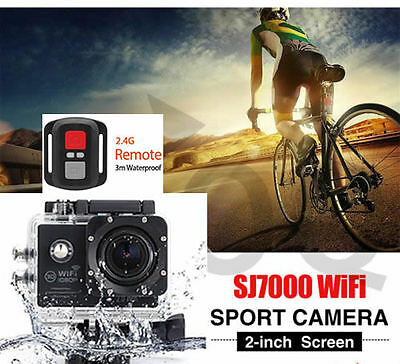 Wifi Extreme Sports DV Action Camera Camcorder WaterProof FULL HD 1080P SJ7000