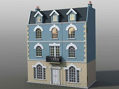 *bargain* *new* The Beeches Dolls House Kit - Four Storey *1:12 Scale*