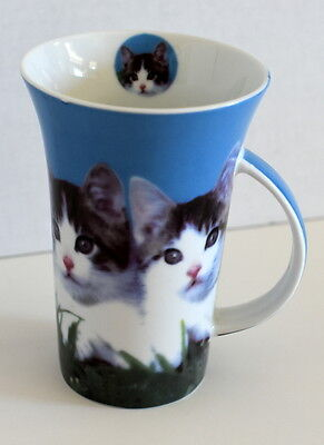 """Vintage 5"""" tall Cat Coffee Cup from Germany"""