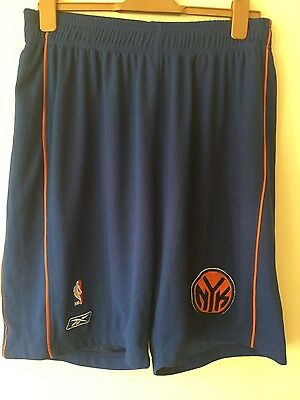 Men's NBA Authentic New York Knicks scrimmage shorts Large