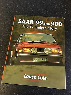Saab 99 and 900 The Complete Story Book Lance Cole Hardback 9781861264299