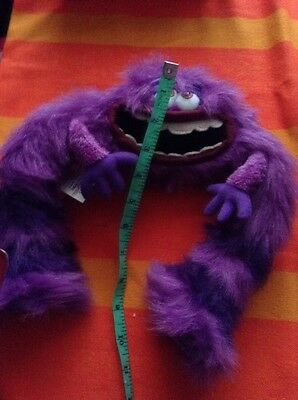 Art Monsters Inc Soft Toy Purple 10 Ins across 10 ins Height
