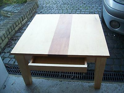 ikea coffee table with drawer