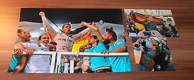 Nico Rosberg *Formel 1 Worldchampion 2016* original signed Photo 20x30 cm (8x12)