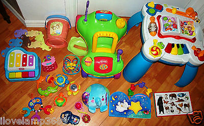 Baby Toddler Toy Fisher Price Leap Frog Activity Table Playskool Ride On Car