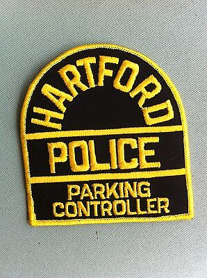 HARTFORD Police, Parking Controller Patch/ For Collection or Display. -