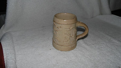 Vintage ceramic stein Mug no lid Germany 7645