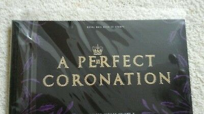 A Perfect Coronation Prestige Book DX31 - Royal Mail Stamps