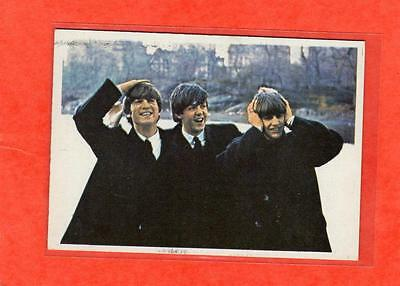 The Beatles Diary US Original Topps 1960's Color Bubble Gum Card # 39A