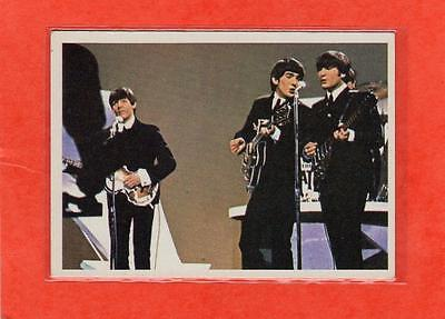 The Beatles Diary US Original Topps 1960's Color Bubble Gum Card # 27A