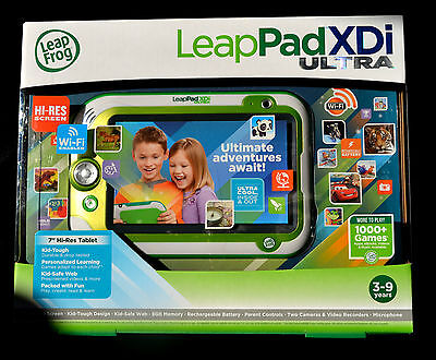 Leap Frog LeapPad xdi Ultra Kids Learning Tablet incl 11 Apps , Wi-Fi Enabled ,
