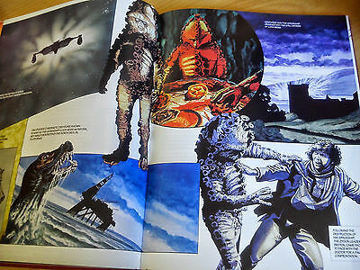 Doctor Who - The Monsters by Adrian Rigelsford & Andrew Skilleter Hardback Book