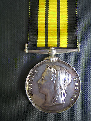 ASHANTEE 1873  MEDAL TO 42nd BLACK WATCH OFFICER