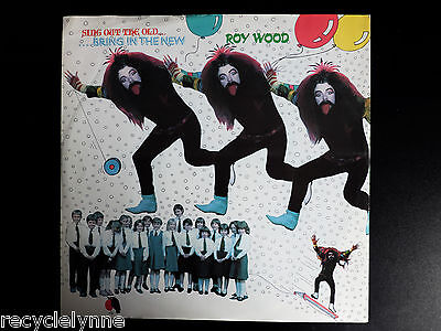 """Roy Wood - Sing Out The Old ..Bring In The New - 12"""" Vinyl Single Record"""