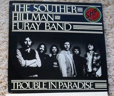 THE SOUTHER= HILLMAN= FURAY BAND COUNTRY ROCK 33rpm  FACTORY SAMPLE.